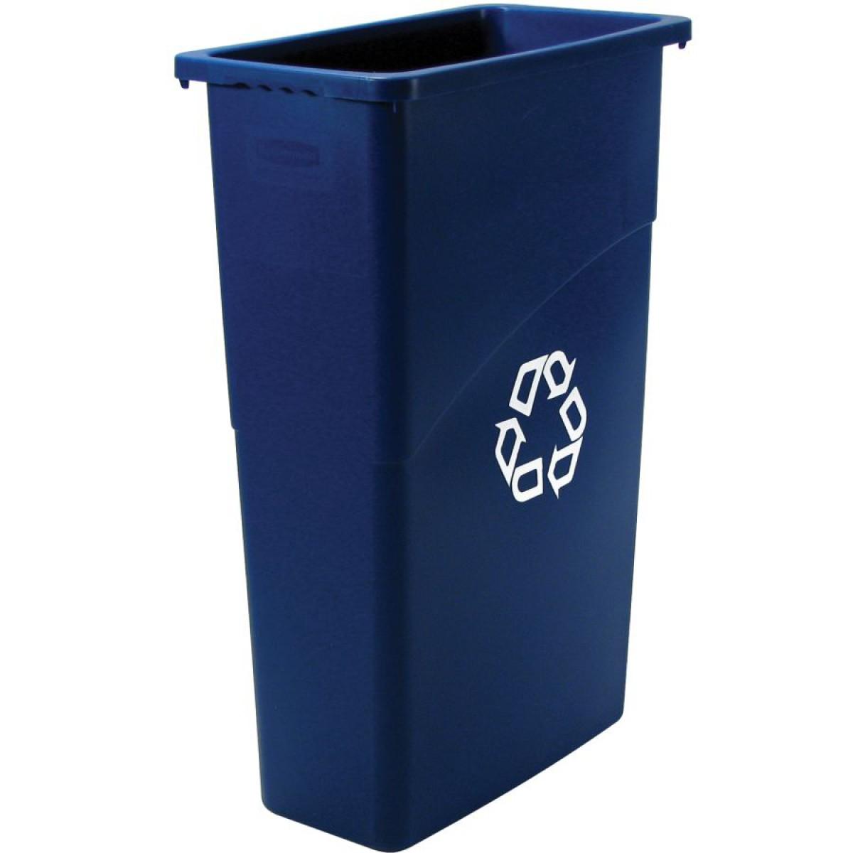 poubelle plastique pour tri s lectif 60 l hse center. Black Bedroom Furniture Sets. Home Design Ideas
