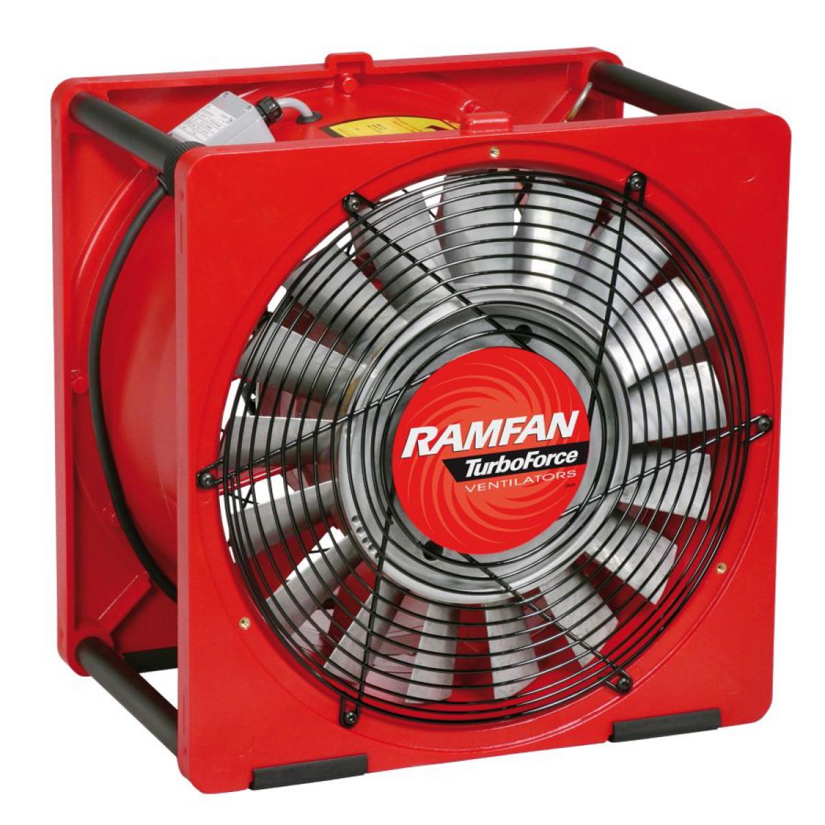 ventilateur extracteur portable 40 cm sp cial pompiers. Black Bedroom Furniture Sets. Home Design Ideas
