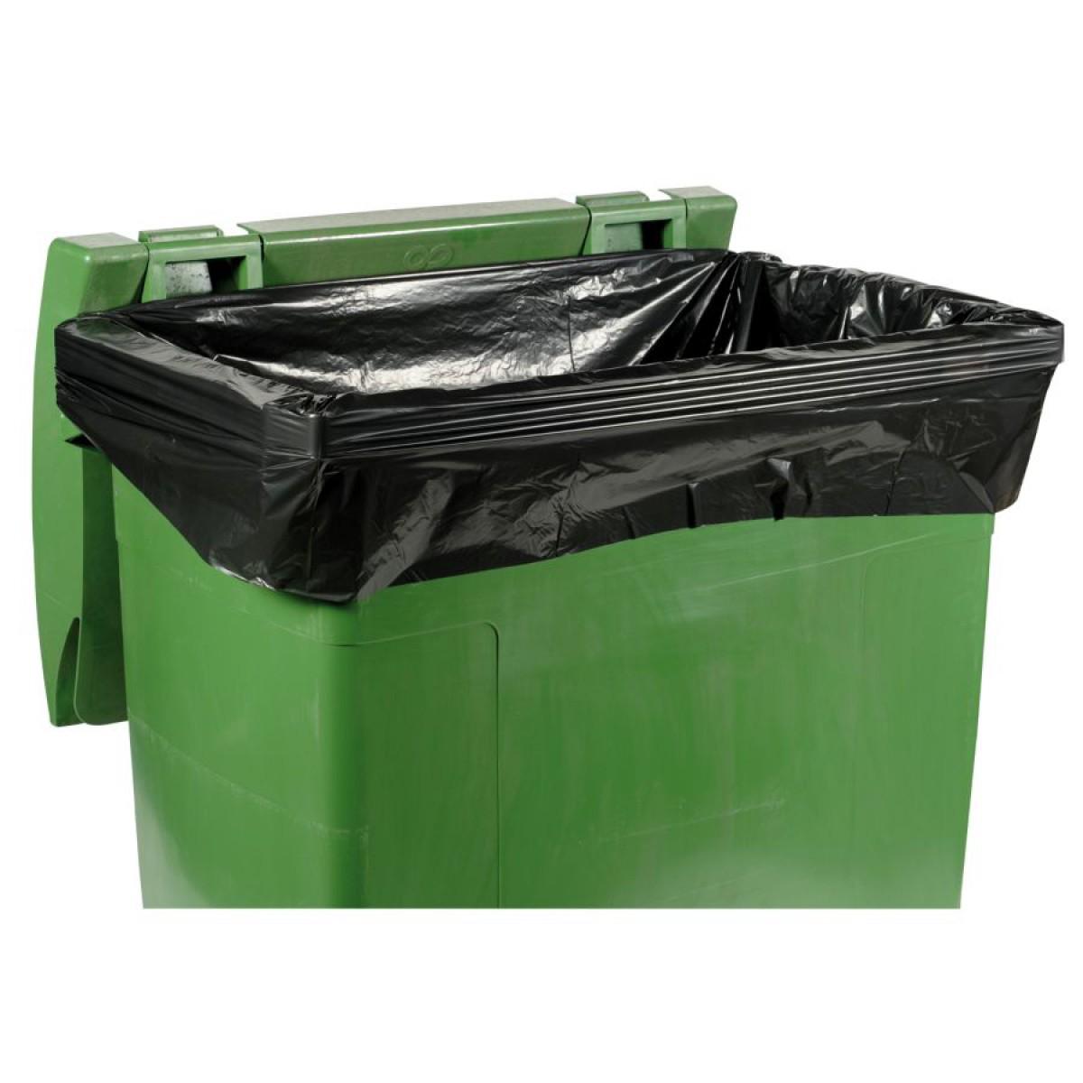 50 sacs poubelle 1100 l pour conteneurs ext rieurs hse center. Black Bedroom Furniture Sets. Home Design Ideas