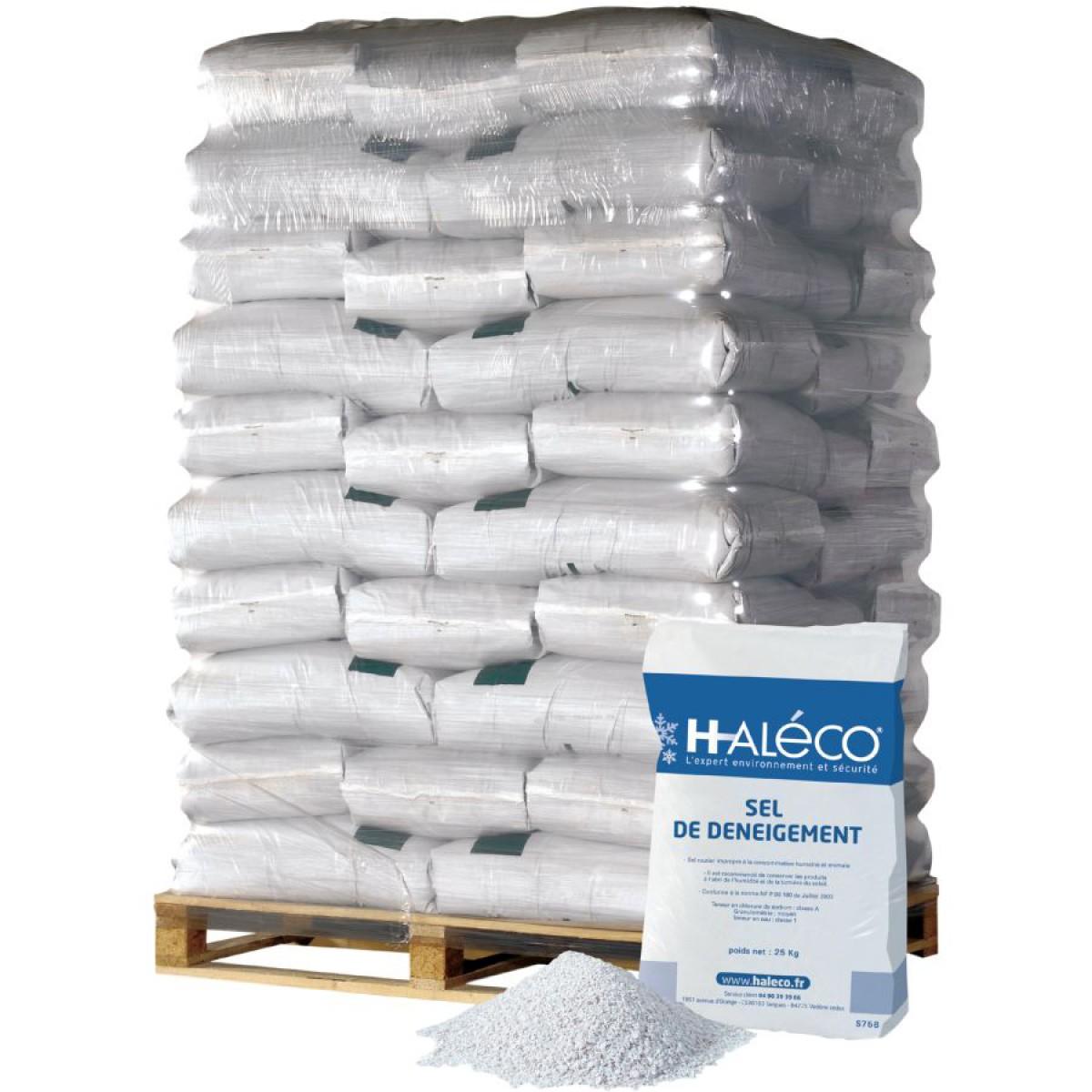 Sel de d neigement classe b palette 49 sacs hse center - Sel de deneigement ...