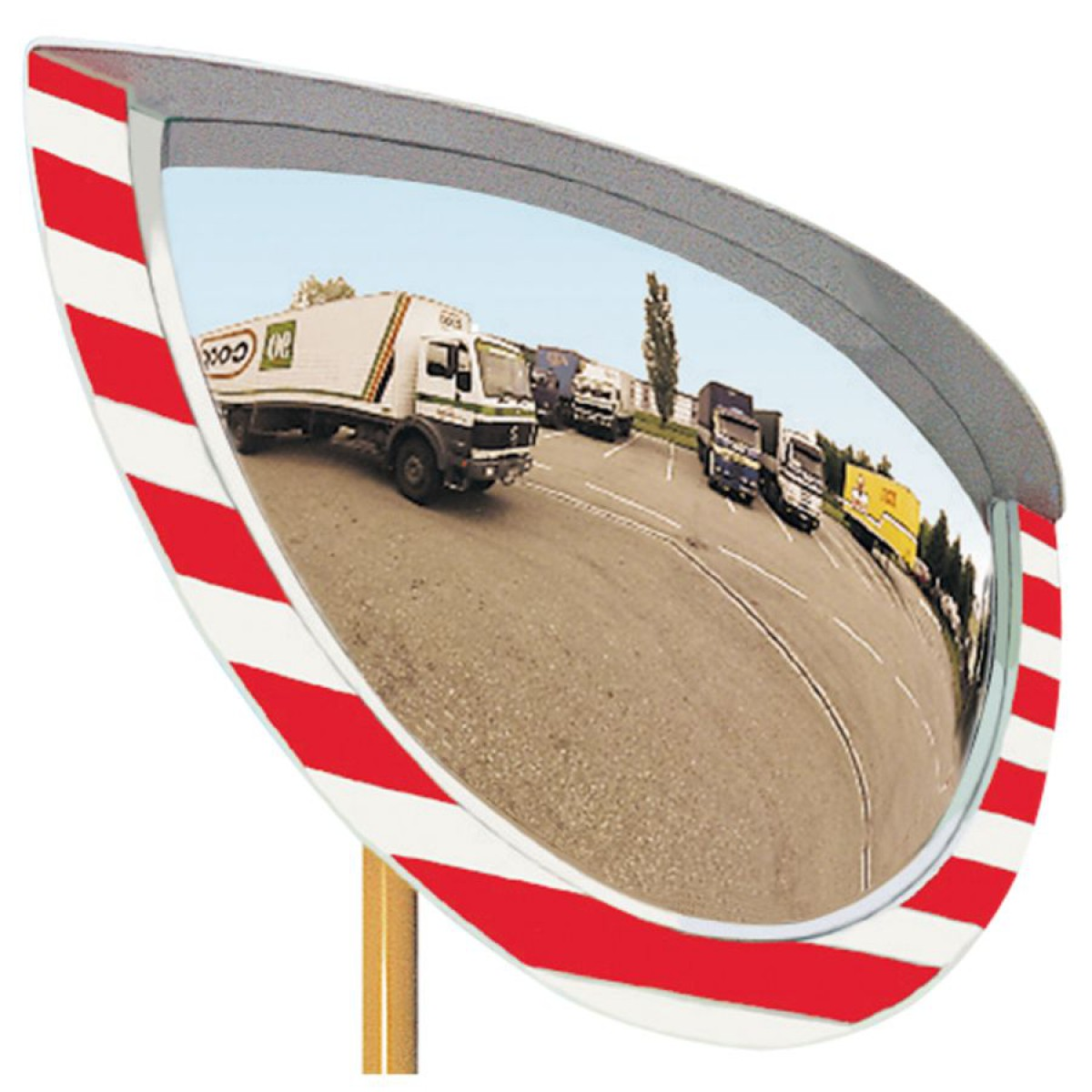 Miroir industrie int rieur ext rieur 900 x 500 mm hse center for Miroir industrie