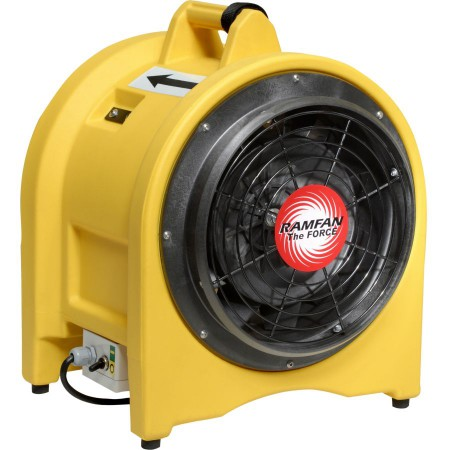 Ventilateur extracteur portable, Ø 30 cm