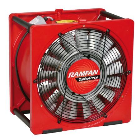 Ventilateur extracteur portable, Ø 40 cm spécial pompiers