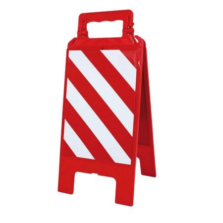 Chevalet plastique rouge Interdiction générale