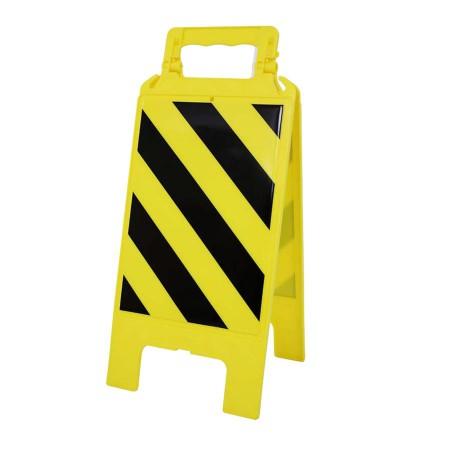 Chevalet plastique jaune Danger général