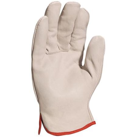 12 paires de gants de manutention docker tout cuir fleur Taille 8