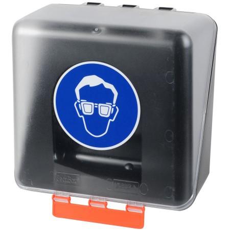 Boîte de rangement pour protection oculaire