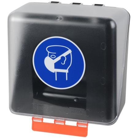 Boîte de rangement pour protection respiratoire