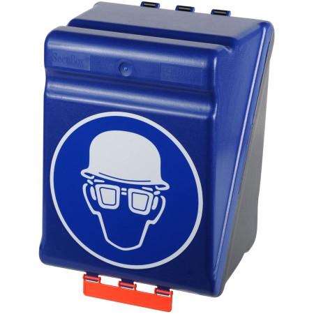 Boîte de rangement pour casque de chantier