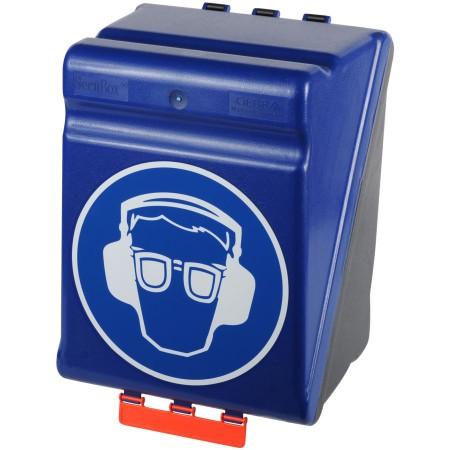 Boîte de rangement pour protection auditive et oculaire