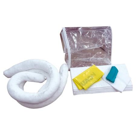 kit antipollution hydrocarbures en sac jaune avec bandes r fl chissantes 20 l hse center. Black Bedroom Furniture Sets. Home Design Ideas