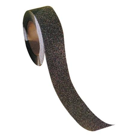 Ruban antidérapant adhésif noir, largeur 50 mm