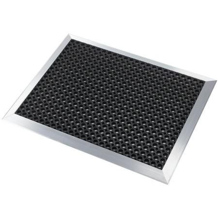Kit rampes alu pour tapis drainant 75cm x 1m