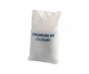 Déverglaçant et déneigeant à base de chlorure de calcium en sac de 25 kg