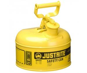 Bidon de sécurité jaune pour produits inflammables, 4L