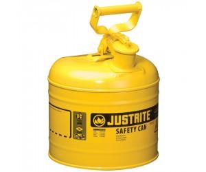 Bidon de sécurité jaune pour produits inflammables, 7.5L