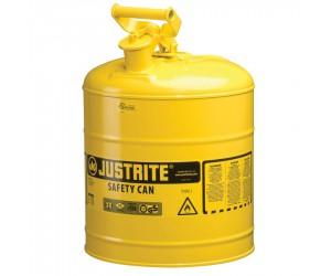Bidon de sécurité jaune pour produits inflammables, 19L
