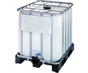 Cuve de stockage 1000 litres avec palette PE
