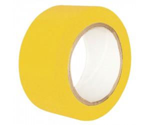 Ruban de signalisation adhésif multi-usage jaune 33 m