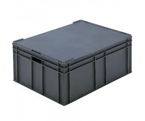 Couvercle pour bacs gerbables, 800 x 600 mm
