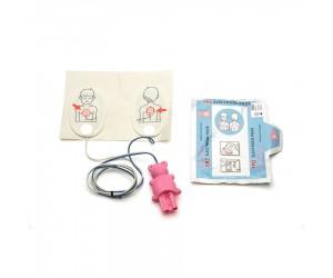 Electrodes 'enfant' (< 8 ans) pour défibrillateur HeartStart HS1