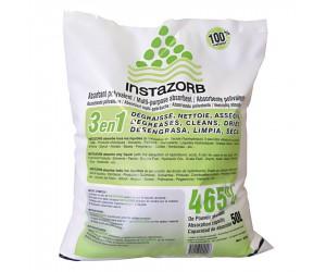 Sac de poudre absorbante, dégraissante et asséchante InstaZorb