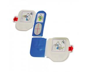 Electrodes 'adulte' pour défibrillateur Zoll AED Plus
