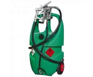 Jerrican polyéthylène de transport et distribution essence, 55 L avec pompe manuelle