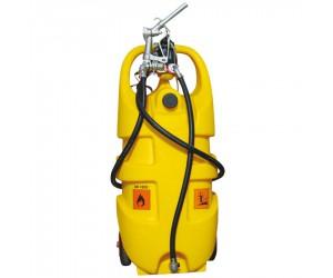 Jerrican polyéthylène de transport et distribution gasoil, 55 L avec pompe électrique 12 V