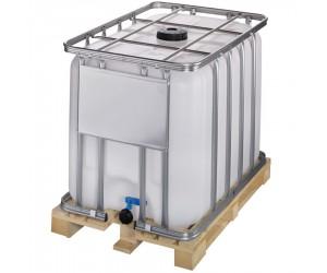 Cuve de stockage 600 litres avec palette bois