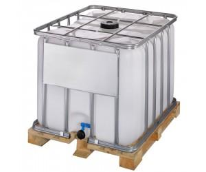Cuve de stockage 800 litres avec palette bois