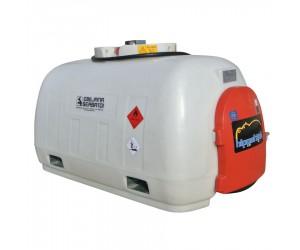 Cuve de transport gasoil 960L en polyéthylène, homologuée ADR - équipée 24V, 45 L/min