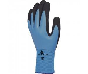 Lot 12 paires de gants polyamide enduit latex spécial froid Taille 10