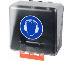 Boîte de rangement pour protection auditive