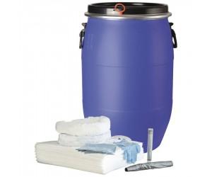 Kit antipollution hydrocarbures en fût, 75 L