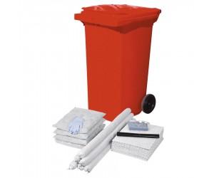 Kit antipollution hydrocarbures en conteneur, 100 L