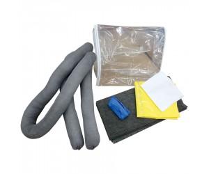 Kit antipollution tous produits en sac transparent, 10 L