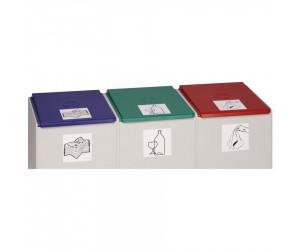 Couvercle plastique pour collecteurs plastique 60 L
