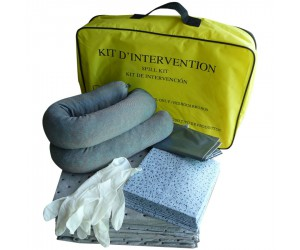 Kit antipollution tous produits en sac, 20 L