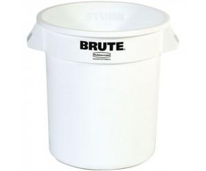Poubelle plastique BRUTE ronde, 76 L