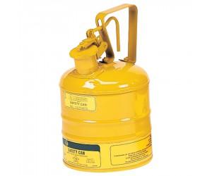 Bidon de sécurité jaune pour produits inflammables, 1L