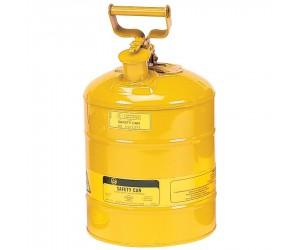 Bidon de sécurité jaune pour produits inflammables, 9.5L