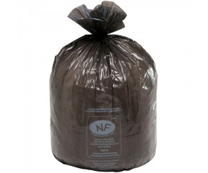 100 sacs poubelle NF multi-usages, 130 L