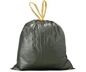 200 sacs poubelle à liens coulissants, 100 L
