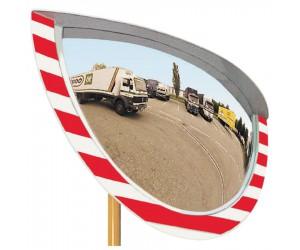 Miroir industrie intérieur/extérieur 900 x 500 mm
