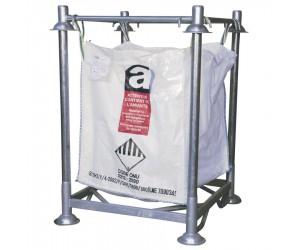 Cadre et embase pour support de big-bag acier