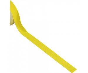 Ruban antidérapant adhésif jaune, largeur 50 mm