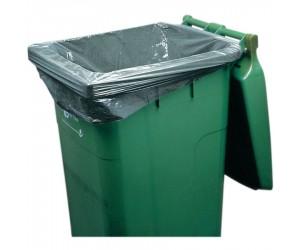 200 sacs poubelle 120 L pour conteneurs extérieurs