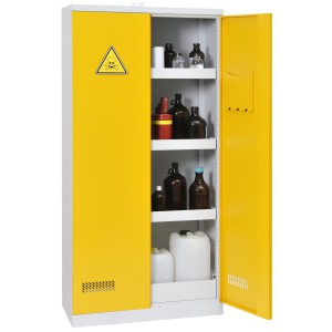 Armoire de sûreté pour produits dangereux, 260 L